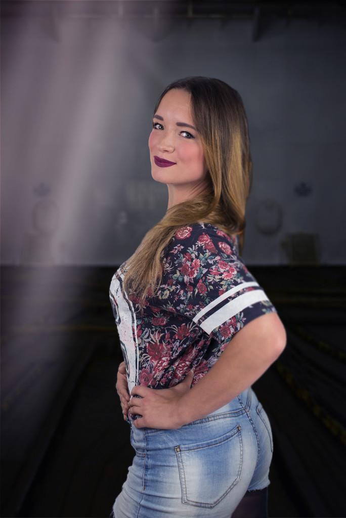 Alexa - unsere neueste Tänzerin. Auch gesanglich ein großes Talent.